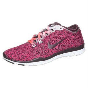 Nike Womens Pink Run Tr 4.0 Running Shoes